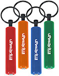 Small Cylinder LED Light Keychains